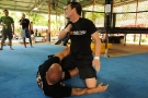 BJJ World Champion and UFC fighter Alberto Crane gives MMA Seminar @ TMT