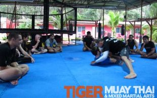 ATT Black Belt Adam Kayoom gives BJJ / MMA Seminar @TigerMuayThai