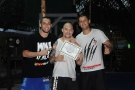BJJ Black Belt Tony Eduardo awards Wiktor and Andreas BJJ Blue Belts