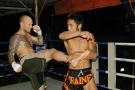 MMA Fighter Brodie Farber trains @ Tiger Muay Thai