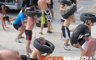 Big Buddha Mountain Bodyfit run @TigerMuayThai - Phuket, Thailand