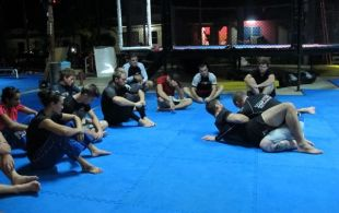 BJJ (Brazilian Jiu Jitsu Night Class w/ Ray Elbe and Ben Starks