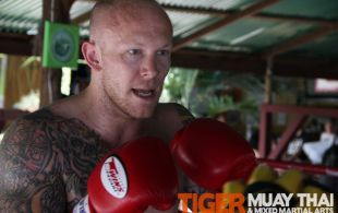 MMA Fighter Brodie Farber returns to Tiger Muay Thai and MMA