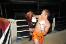 Pro MMA Fighter Chris Cape trains @ Tiger Muay Thai, Phuket, Thailand
