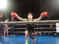 Tiger Muay Thai veteran fighter Claire Haigh fights in Europe