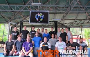 BJJ Black Belt World Champion Dan Simmler Seminar @TigerMuayThai - Phuket, Thailand