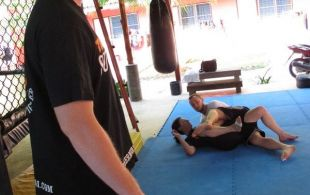 Dave Roberts Seminar at Tiger Muay Thai & MMA training camp in Phuket, Thailand March 1, 2012