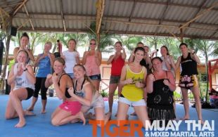Dayne and Bianca train @TigerMuayThai before getting married in Phuket, Thailand