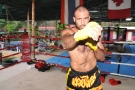 Elvis Sinosic prepares for UFC 110 with Paul Merchant @ Tiger Muay Thai - January 2010 - Phuket,Thailand