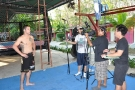 ESPN Asia come to Tiger Muay Thai and MMA training camp on 02/04/2010 to film for upcoming promotion