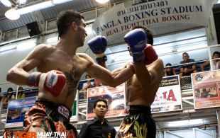 Mohamad Immortal fights at Bangla stadium in Phuket, Thailand, Friday, Jul. 5, 2013. (Photo by Mitch Viquez ©2013)