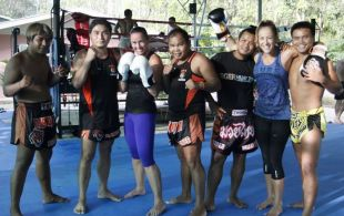 Tiger Muay Thai and MMA Training Camp, Phuket, Thailand Guests September 2011