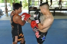 Gustavo: Tiger Muay Thai Highlight Muay Thai Training Photos