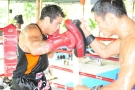 MMA Superstar Roger Heurta trains @ Tiger Muay Thai January 2011