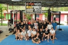 Veteran UFC Champion Dave Menne gives seminar at Tiger Muay Thai and MMA, Phuket, Thailand