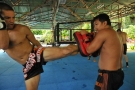 MMA training session with TMT pro fighters June 27, 2010, Thailand