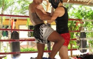 professional MMA training at Tiger Muay Thai and MMA Training camp, Phuket, Thailand