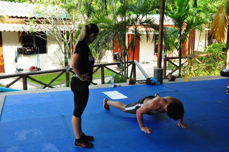 Fighting Thai 187 Body Fitness Class By Ocean Bloom At Tiger
