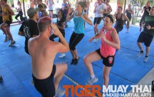BodyFit Class with Ocean Bloom @TigerMuayThai December 27, 2011