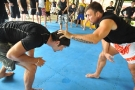 UFC and Pride Vet Phil Baroni gives MMA seminar at Tiger Muay Thai and MMA, Thailand