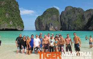 Tiger Muay Thai Guests Phi Phi Island Trip October 2011