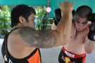 Private training at Tiger Muay Thai and MMA, Phuket, Thailand