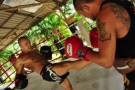 Private Muay  Thai Training Photo Session: Feb 2011