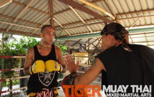 MMA Fighter Raja Shippen @TigerMuayThai