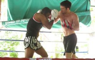 Sparring session @TigerMuayThai September 2011