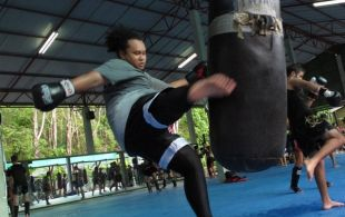 Tiger Muay Thai & MMA Training Camp Beginner's Muay Thai Class April 18, 2012