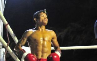 Tiger Muay Thai & MMA Training Camp Fights at Nai Harn Beach March 16, 2013 including TMT Fakhanong and Nazee