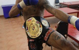 Tiger Muay Thai & MMA Training Camp Fights December 19, 2012 including TMT Marcel Gaines