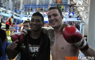 Tiger Muay Thai & MMA Training Camp Fights November 17, 2012 including TMT Pechdam