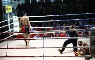 Tiger Muay Thai & MMA Training Camp Fights November 23, 2012 including TMT Matthew Semper and Pong