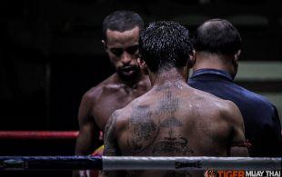 Tiger Muay Thai & MMA Training Camp Guest Fights January 27th, 2014 including Nick Platt, Craig Derbyshire at Patong Stadium in Phuket, Thailand ©SamKearney