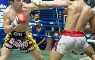 Max Emett at Bangla stadium in Phuket, Thailand, Sunday, Jun. 9, 2013. (Photo by Mitch Viquez ©2013)