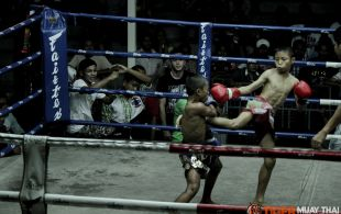 Tiger Muay Thai & MMA Training Camp Guest Fights March 4th, 2014 including Dillon Croush,  Tiger Muay Thai Fighters Kom and Pie at Suwit Stadium in Phuket, Thailand.
