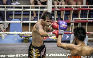 Tiger Muay Thai & MMA Training Camp Guest Fights March 5th, 2014 including Andre Pereira from Brazil and Matt Tepaa from New Zealand at Bangla Stadium in Phuket, Thailand.