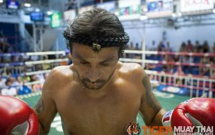 Mario Marin fights at Bangla Stadium in Phuket, Thailand, Wednesday, May. 22, 2013. (Photo by Mitch Viquez ©2013)