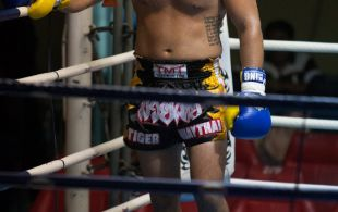 James Le Roux at Patong Sainamyen Road stadium in Phuket, Thailand, Monday, Sep. 9 2013. (Photo by Mitch Viquez ©2013)
