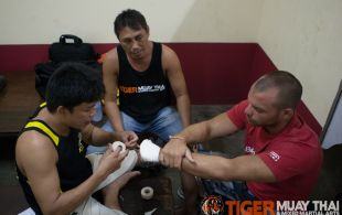 Tiger Muay Thai & MMA Training Camp Guest Fights September 9, 2013