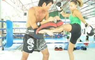 Private Training @TigerMuay Thai and MMA, Phuket, Thailand: October 2011