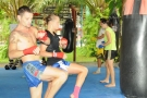 Tiger Muay Thai Guests training April 26, 2009, Phuket, Thailand