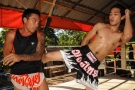 Guests Training @ Tiger Muay Thai and MMA Training camp, Phuket, Thailand October 2009
