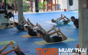 Yoga Program @TigerMuayThai -Phuket, Thailand December 29-2011